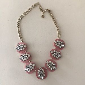 Like New Ann Taylor Necklace With White Diamonds